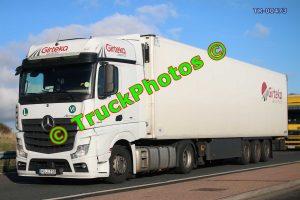 TR-00473 Mercedes Actros Reg:- HGJ739 Op:- Girteka Logistics