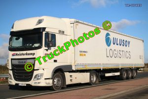 TR-00489 DAF XF Reg:- CJ89HKP Op:- Ulusoy Logistics