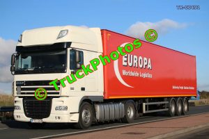 TR-00491 DAF XF Reg:- FTO223 Op:- Europa