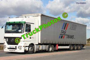 TR-00504 Mercedes Actros Reg:- LJ826CF Op:- Tag Trans