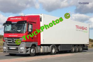 TR-00505 Mercedes Actros Reg:- WGM28W5 Op:- Transad