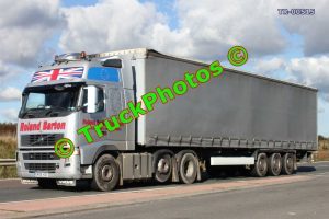 TR-00515 Volvo  Reg:- GN06HDE Op:- Roland Barton