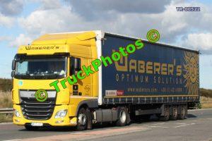 TR-00522 DAF XF Reg:- MTT371 Op:- Waberer's