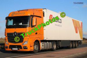 TR-00535 Mercedes Actros Reg:- WB4252L Op:- Sedico