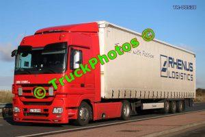 TR-00538 Mercedes Actros Reg:- CTR3PH8 Op:- Rhenus Logistics