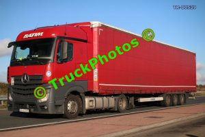 TR-00539 Mercedes Actros Reg:- KN65945 Op:- Batim