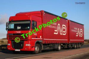 TR-00540 DAF XF Reg:- AR11ARH Op:- Norbert Dentressangle