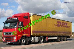 TR-00566 Volvo FH Reg:- B175EEX Op:- DHL