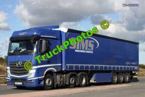 TR-00568 Mercedes Actros Reg:- DG64FLW Op:- Sims