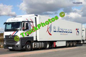 TR-00573 Mercedes Actros Reg:- 4747JFY Op:- El Mosca