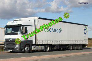 TR-00592 Mercedes Actros Reg:- 4AF7626 Op:- CSCargo
