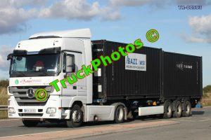 TR-00593 Mercedes Actros Reg:- WRA36585 Op:- Routier Trans