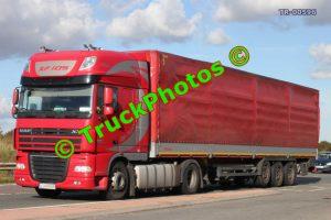 TR-00596 DAF XF Reg:- LU8436R Op:-