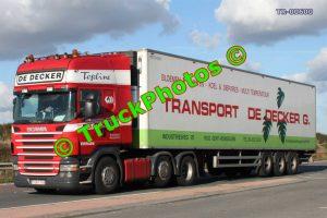 TR-00600 Scania R580 Reg:- 1EKV784 Op:- Transport De Decker