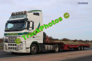 TR-00662 Volvo FH Reg:- M100LFN Op:- LF Nicholls