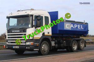 TR-00668 Scania 260 Reg:- T828LKE Op:- Capel Groundworks