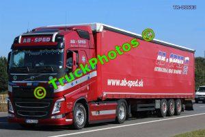 TR-00683 Volvo FH Reg:- PU416BN Op:- AB Sped