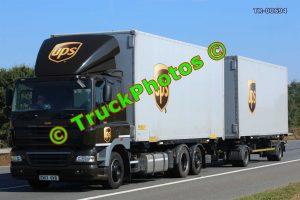 TR-00694 DAF CF Reg:- EN13OVB Op:- UPS