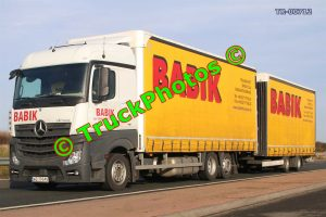 TR-00712 Mercedes Actros Reg:- WZ7984N Op:- Babik