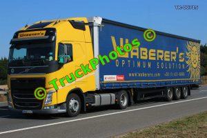 TR-00715 Volvo FH Reg:- MWW040 Op:- Waberer's