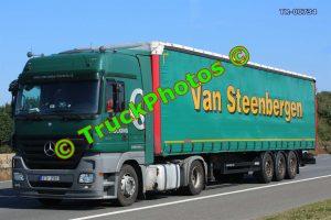 TR-00734 Mercedes Actros Reg:- 9TO2583 Op:- Van Steenbergen