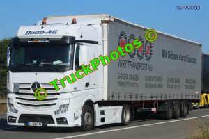 TR-00735 Mercedes Actros Reg:- SK6815AK Op:- Wirz Transport AG