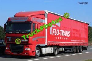 TR-00756 DAF XF Reg:- VL36RAZ Op:- Flo-trans Company