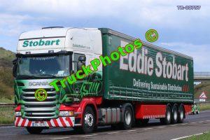 TR-00757 Scania R450 Reg:- 3SL5218 Op:- Eddie Stobart