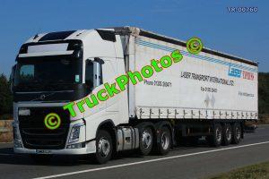 TR-00760 Volvo FH Reg:- GM65UJH Op:- Laser Express