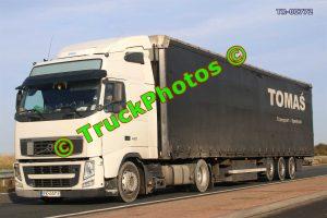 TR-00772 Volvo FH Reg:- PK6441E Op:- Tomas