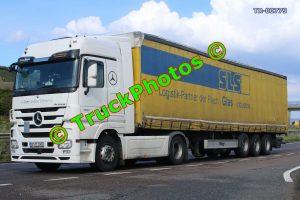 TR-00779 Mercedes  Reg:- BT17DRG Op:- SLS