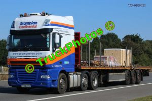 TR-00789 DAF XF Reg:- SV12AVX Op:- Grampian Continental