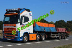 TR-00792 Volvo FH Reg:- OO55NJB Op:- Grampian Continental