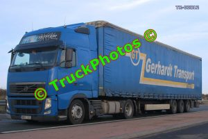 TR-00812 Volvo FH Reg:- MMY182 Op:- Gerhardt Transport