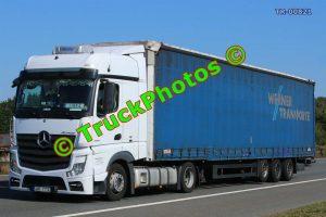 TR-00821 Mercedes Actros Reg:- 4AR7112 Op:- Werner Transporte
