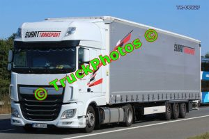 TR-00827 DAF XF Reg:- 5AP6526 Op:- Subrt Transport