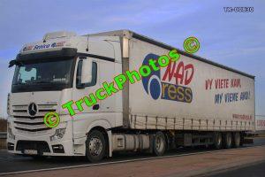 TR-00830 Mercedes Actros Reg:- SE241CG Op:- NAD Express