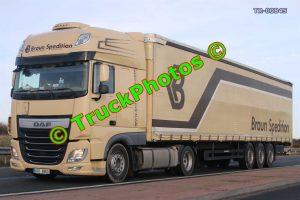 TR-00845 DAF XF Reg:- 6C68863 Op:- Braun Spedition