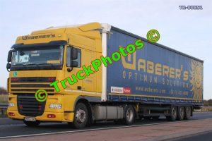TR-00851 DAF XF Reg:- MMG194 Op:- Waberer's