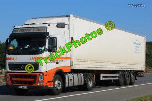 TR-00864 Volvo FH Reg:- BZ99VDV Op:- VDV Freight