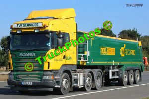 TR-00868 Scania R480 Reg:- EU13VLO Op:- TW Services