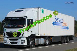 TR-00891 Iveco  Reg:- FD899VH Op:- Benaco Trans