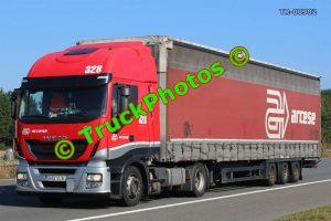 TR-00902 Iveco  Reg:- B52VLW Op:-  Arcese