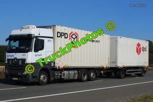 TR-00910 Mercedes Actros Reg:- ABAS429 Op:- DPD