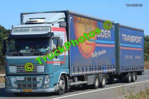 TR-00945 Volvo FH Reg:- BZJL36 Op:- heijboer Holland