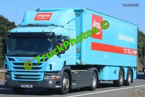 TR-00952 Scania P400 Reg:- FH13JWP Op:- Argos