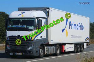TR-00965 Mercedes Actros Reg:- 92PD91 Op:- Prima Frio