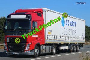 TR-00966 Volvo FH Reg:- BG924NF Op:- Ulusoy Logistics