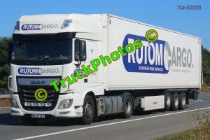 TR-00972 DAF XF Reg:- HHRT5017 Op:- Rutom Cargo