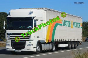 TR-01019 DAF XF Reg:- LJKB616 Op:- Viator & Vektor